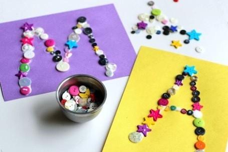 Английский алфавит для детей от A до Z. Буквы своими руками.