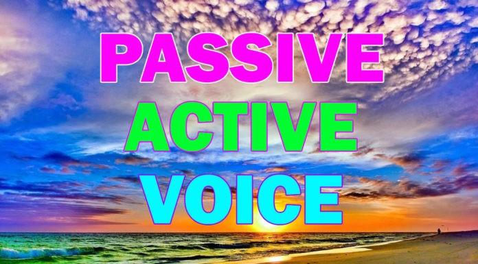 Пассивный и Активный залог в английском языке. Употребление и формирование пассивного залога.