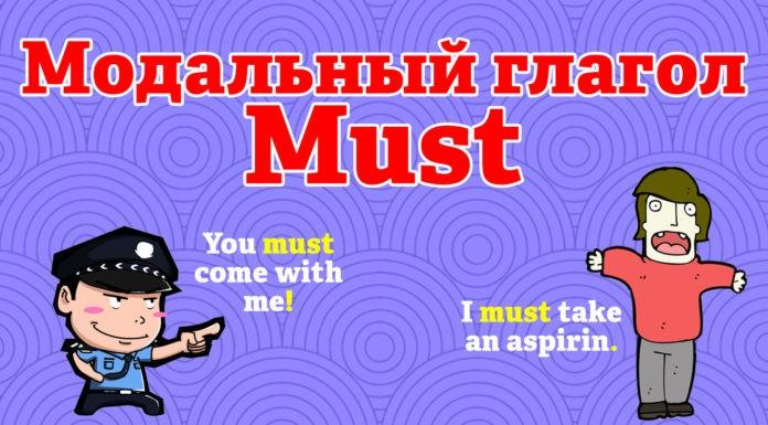 Модальный глагол Must в английском языке.
