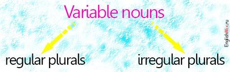 Variable Nouns