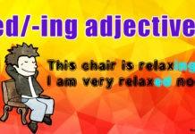 Прилагательные на –ing и –ed в английском языке